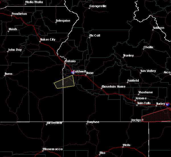 Radar Image for Severe Thunderstorms near Caldwell, ID at 4/30/2020 2:05 PM MDT