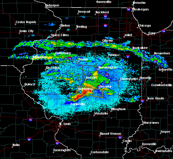 Radar Image for Severe Thunderstorms near Macon, IL at 5/2/2020 9:52 PM CDT