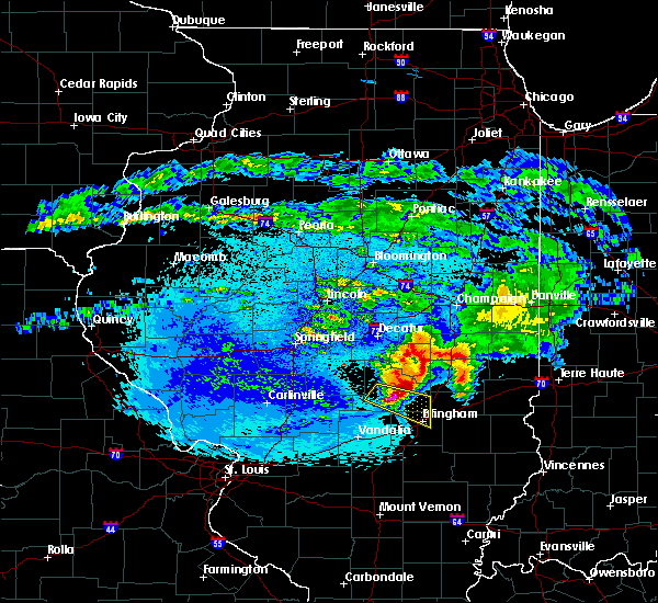 Radar Image for Severe Thunderstorms near Sigel, IL at 5/2/2020 10:56 PM CDT