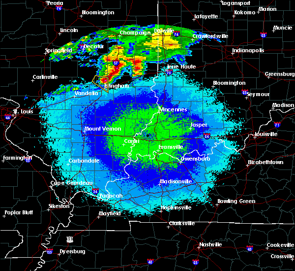 Radar Image for Severe Thunderstorms near Greenup, IL at 5/2/2020 11:23 PM CDT