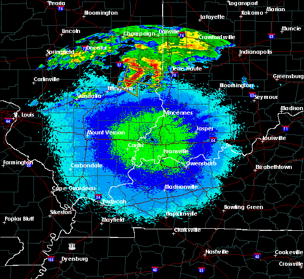 Radar Image for Severe Thunderstorms near Greenup, IL at 5/2/2020 11:38 PM CDT