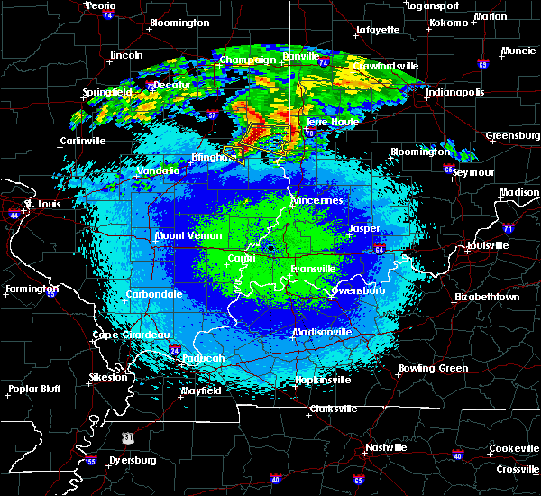 Radar Image for Severe Thunderstorms near Casey, IL at 5/2/2020 11:44 PM CDT