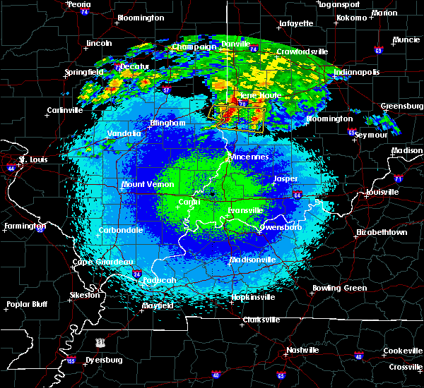 Radar Image for Severe Thunderstorms near West Union, IL at 5/3/2020 12:14 AM CDT
