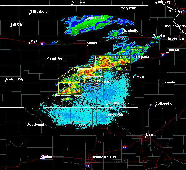 Radar Image for Severe Thunderstorms near Andover, KS at 5/3/2020 5:53 AM CDT