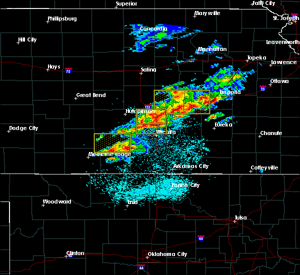 Radar Image for Severe Thunderstorms near Burrton, KS at 5/3/2020 6:14 AM CDT