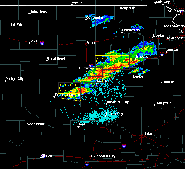Radar Image for Severe Thunderstorms near Andover, KS at 5/3/2020 6:25 AM CDT