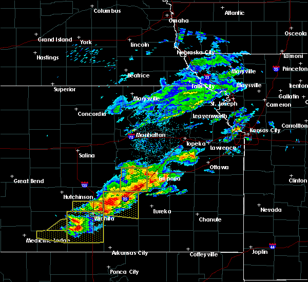 Radar Image for Severe Thunderstorms near Hamilton, KS at 5/3/2020 6:46 AM CDT