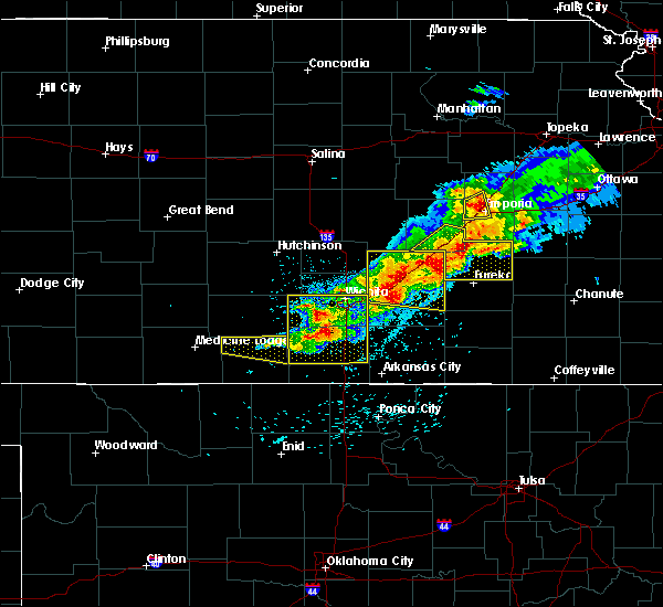 Radar Image for Severe Thunderstorms near Andover, KS at 5/3/2020 6:55 AM CDT