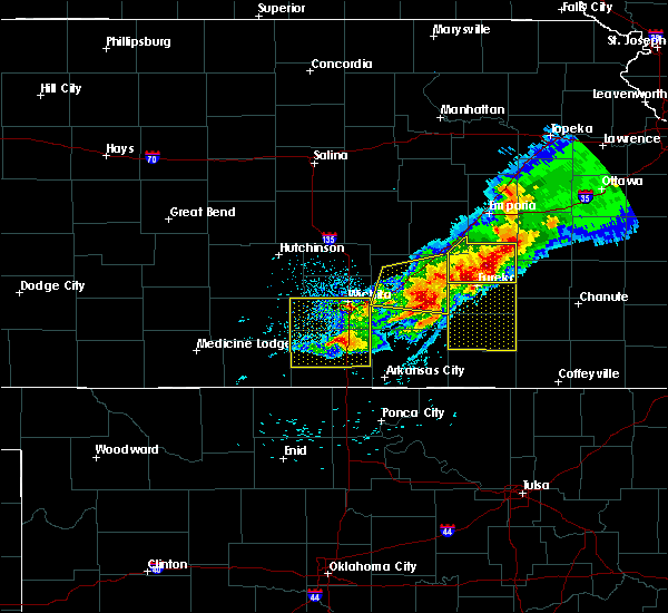 Radar Image for Severe Thunderstorms near Belle Plaine, KS at 5/3/2020 7:19 AM CDT