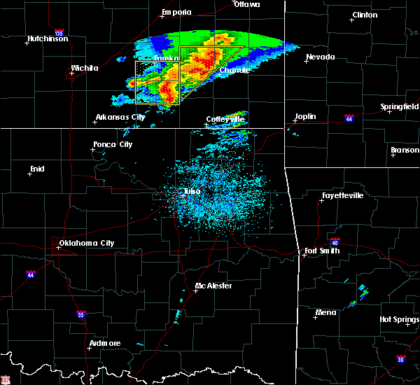 Radar Image for Severe Thunderstorms near Neodesha, KS at 5/3/2020 8:04 AM CDT