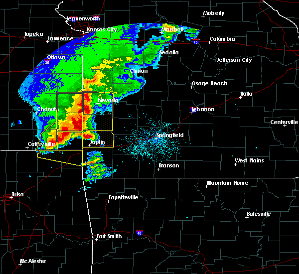 Radar Image for Severe Thunderstorms near Burgess, MO at 5/3/2020 9:16 AM CDT