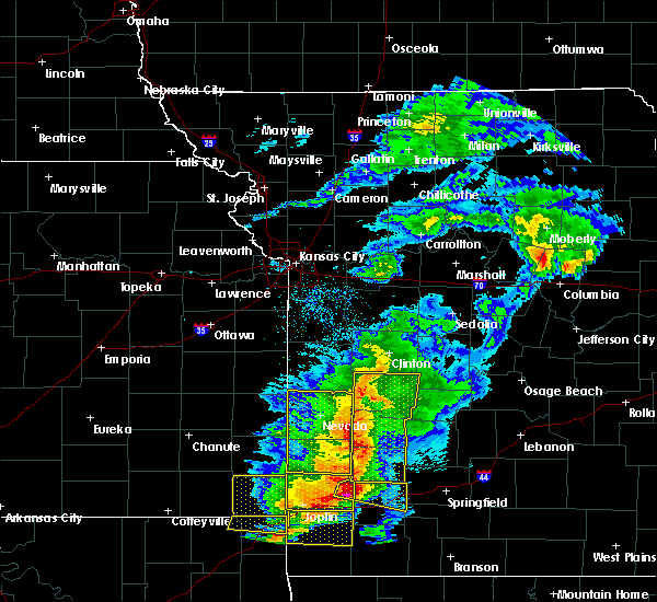 Radar Image for Severe Thunderstorms near Irwin, MO at 5/3/2020 9:48 AM CDT