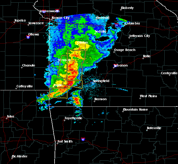 Radar Image for Severe Thunderstorms near South Greenfield, MO at 5/3/2020 9:58 AM CDT
