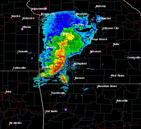 Radar Image for Severe Thunderstorms near Fair Play, MO at 5/3/2020 10:08 AM CDT