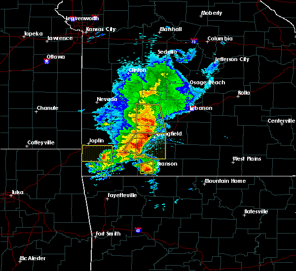 Radar Image for Severe Thunderstorms near Fair Play, MO at 5/3/2020 10:28 AM CDT