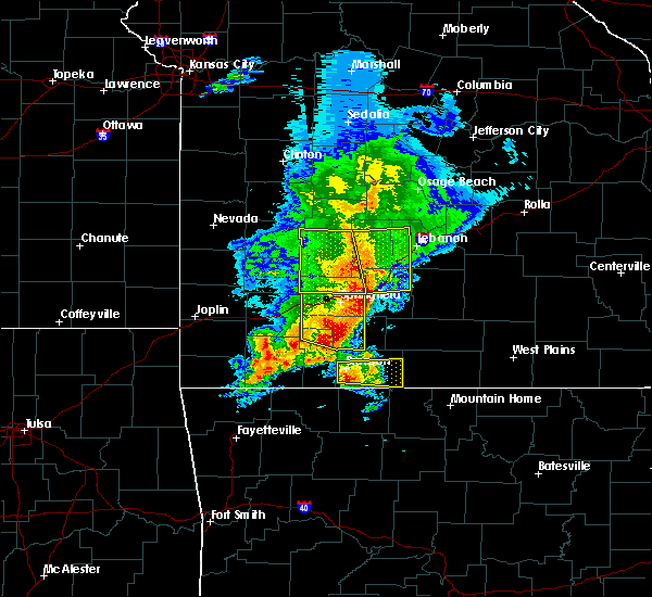 Radar Image for Severe Thunderstorms near Highlandville, MO at 5/3/2020 10:47 AM CDT