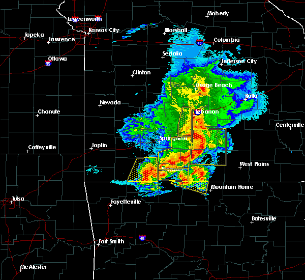 Radar Image for Severe Thunderstorms near Merriam Woods, MO at 5/3/2020 11:18 AM CDT