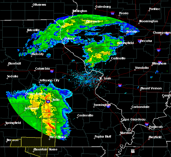 Radar Image for Severe Thunderstorms near Thomasville, MO at 5/3/2020 11:58 AM CDT