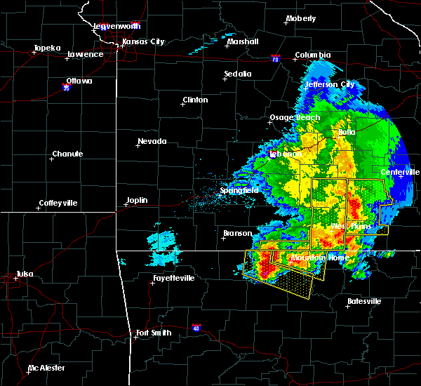 Radar Image for Severe Thunderstorms near Brandsville, MO at 5/3/2020 12:14 PM CDT