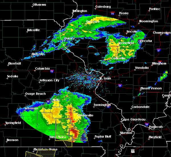 Radar Image for Severe Thunderstorms near Thomasville, MO at 5/3/2020 12:41 PM CDT