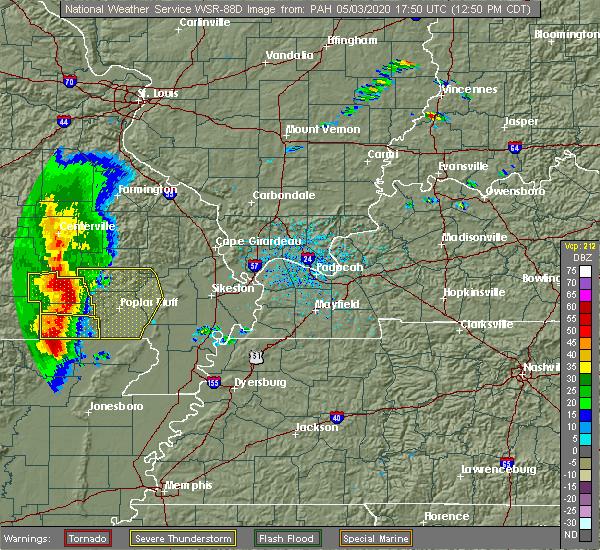 Radar Image for Severe Thunderstorms near Grandin, MO at 5/3/2020 12:53 PM CDT