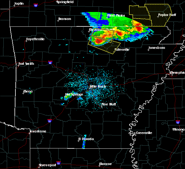 Radar Image for Severe Thunderstorms near Melbourne, AR at 5/3/2020 12:56 PM CDT