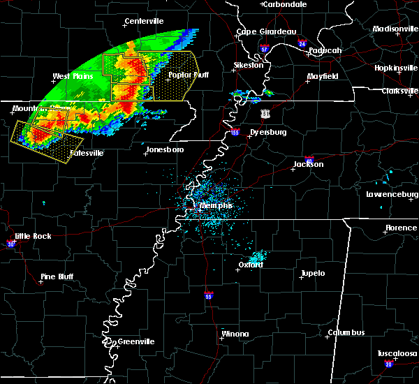 Radar Image for Severe Thunderstorms near Biggers, AR at 5/3/2020 1:01 PM CDT