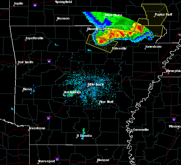 Radar Image for Severe Thunderstorms near Guion, AR at 5/3/2020 1:04 PM CDT