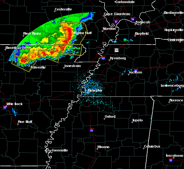 Radar Image for Severe Thunderstorms near Biggers, AR at 5/3/2020 1:14 PM CDT
