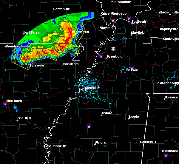 Radar Image for Severe Thunderstorms near Delaplaine, AR at 5/3/2020 1:17 PM CDT