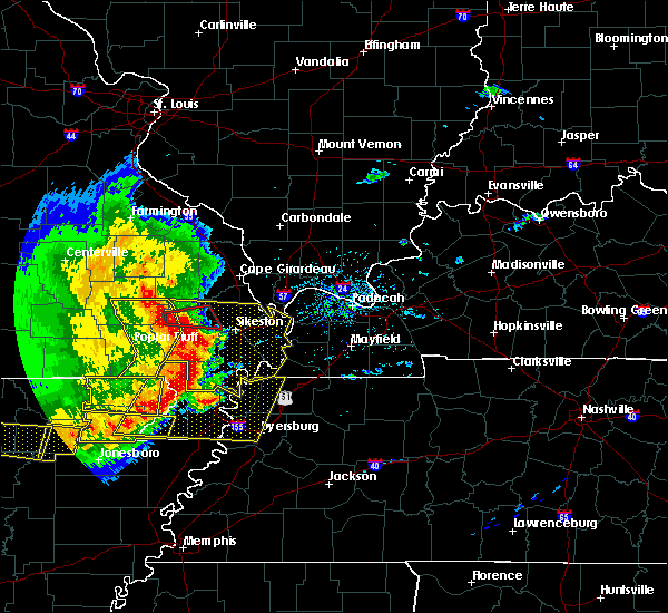 Radar Image for Severe Thunderstorms near Bell City, MO at 5/3/2020 1:48 PM CDT