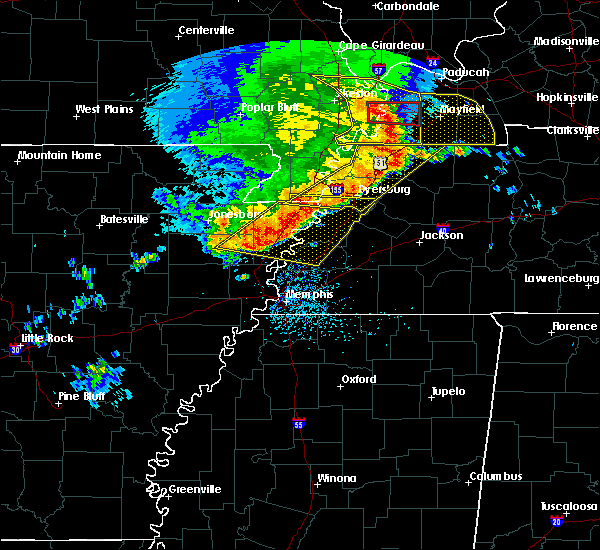 Radar Image for Severe Thunderstorms near Troy, TN at 5/3/2020 2:32 PM CDT