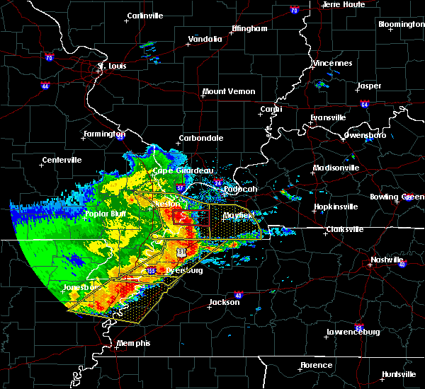 Radar Image for Severe Thunderstorms near Water Valley, KY at 5/3/2020 2:37 PM CDT