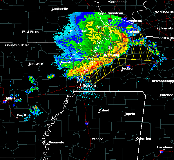 Radar Image for Severe Thunderstorms near Brighton, TN at 5/3/2020 2:51 PM CDT