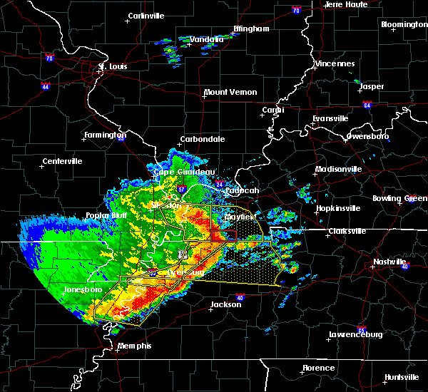 Radar Image for Severe Thunderstorms near Water Valley, KY at 5/3/2020 2:52 PM CDT