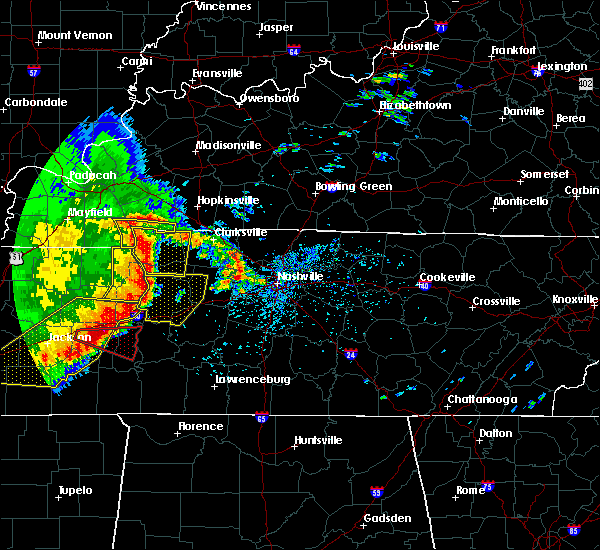 Radar Image for Severe Thunderstorms near Clifton, TN at 5/3/2020 3:40 PM CDT