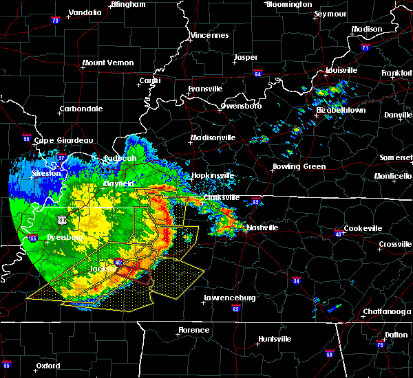 Radar Image for Severe Thunderstorms near Clarksville, TN at 5/3/2020 3:47 PM CDT