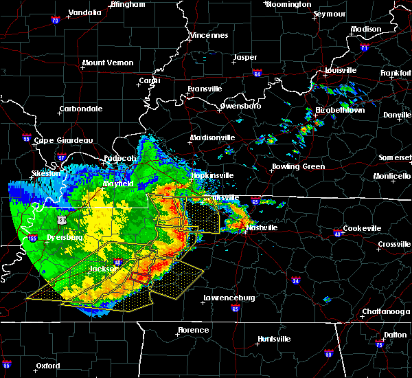 Radar Image for Severe Thunderstorms near Scotts Hill, TN at 5/3/2020 3:57 PM CDT