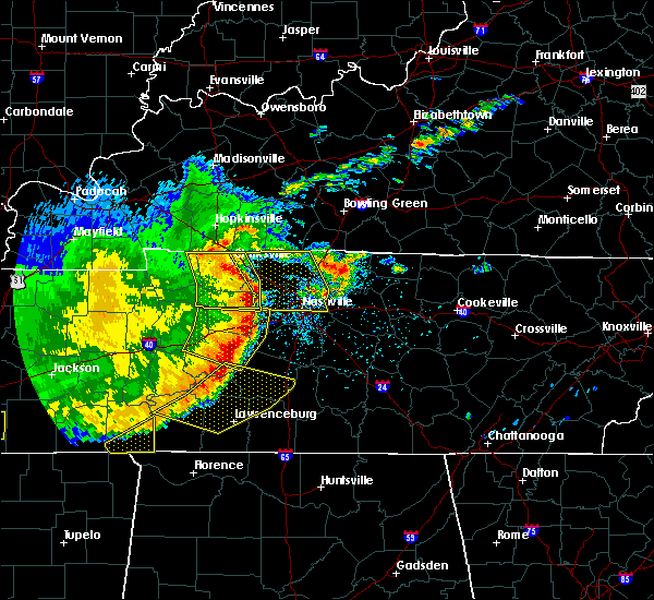 Radar Image for Severe Thunderstorms near La Vergne, TN at 5/3/2020 4:20 PM CDT