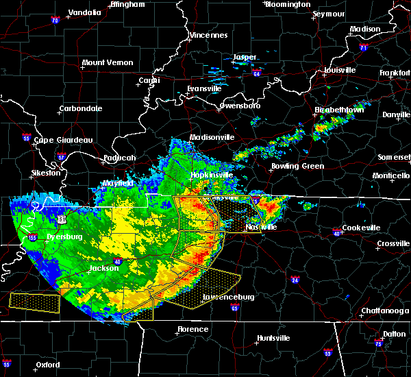 Radar Image for Severe Thunderstorms near Clarksville, TN at 5/3/2020 4:23 PM CDT