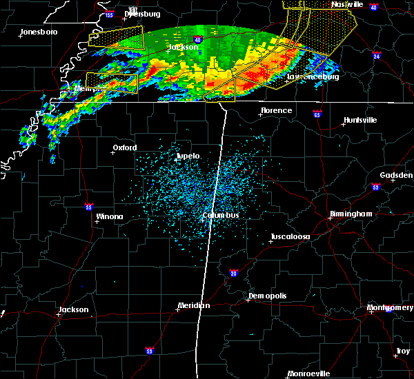 Radar Image for Severe Thunderstorms near Walnut Grove, TN at 5/3/2020 4:31 PM CDT