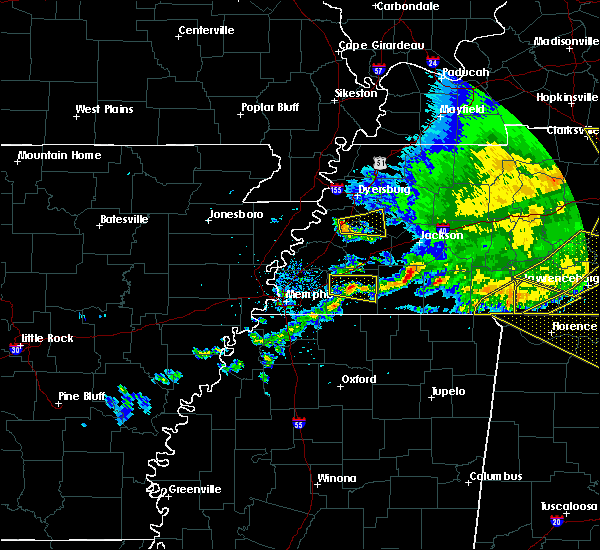 Radar Image for Severe Thunderstorms near Gates, TN at 5/3/2020 4:39 PM CDT