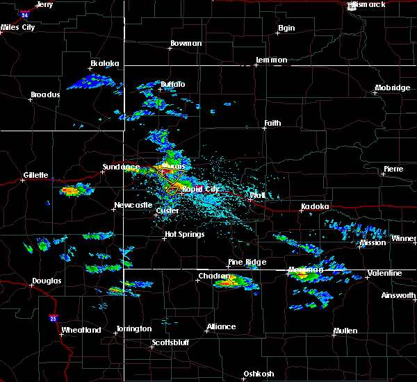 Radar Image for Severe Thunderstorms near Colonial Pine Hills, SD at 5/3/2020 3:40 PM MDT