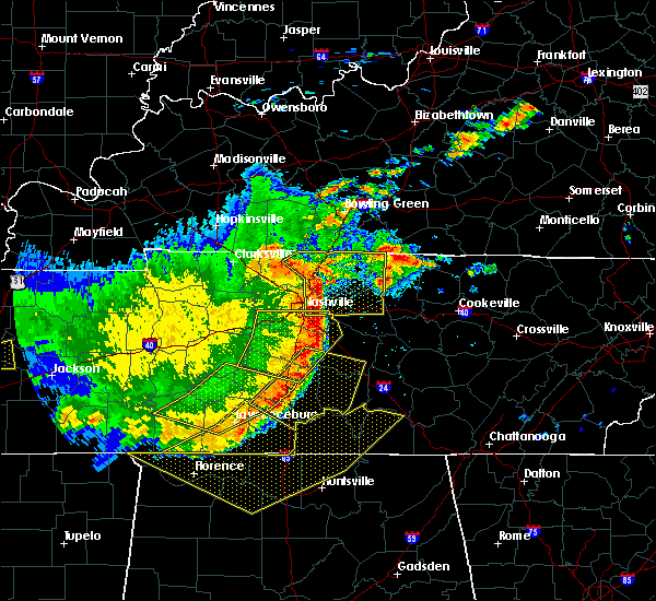 Radar Image for Severe Thunderstorms near La Vergne, TN at 5/3/2020 4:50 PM CDT