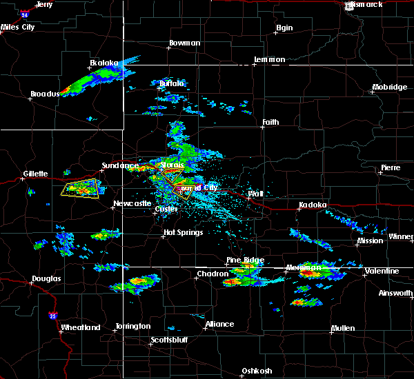 Radar Image for Severe Thunderstorms near Green Valley, SD at 5/3/2020 4:07 PM MDT