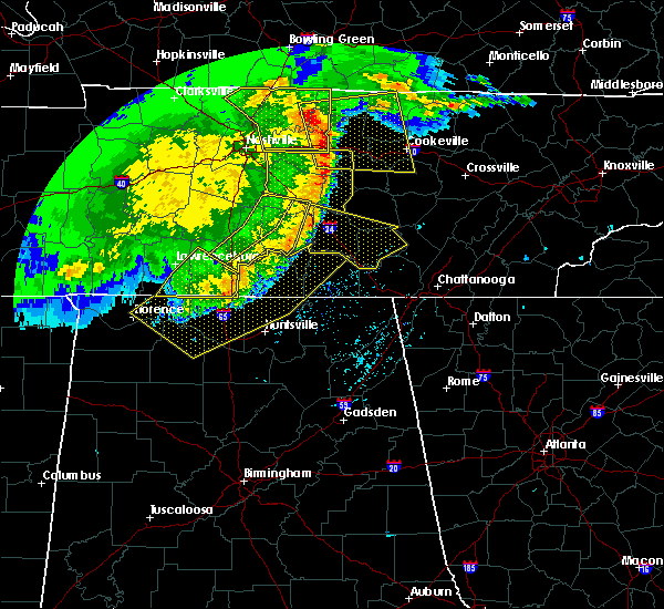 Radar Image for Severe Thunderstorms near Tullahoma, TN at 5/3/2020 5:16 PM CDT