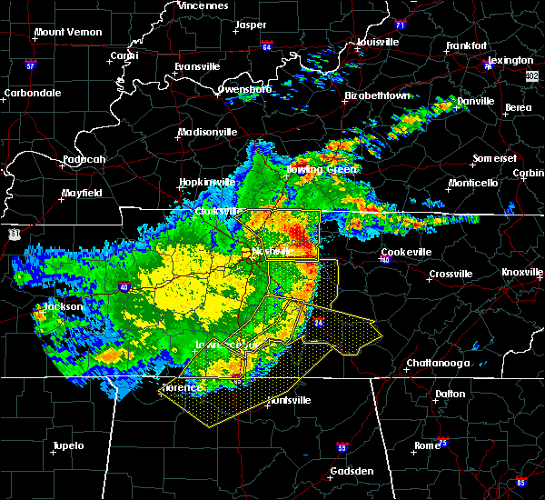 Radar Image for Severe Thunderstorms near Carthage, TN at 5/3/2020 5:16 PM CDT