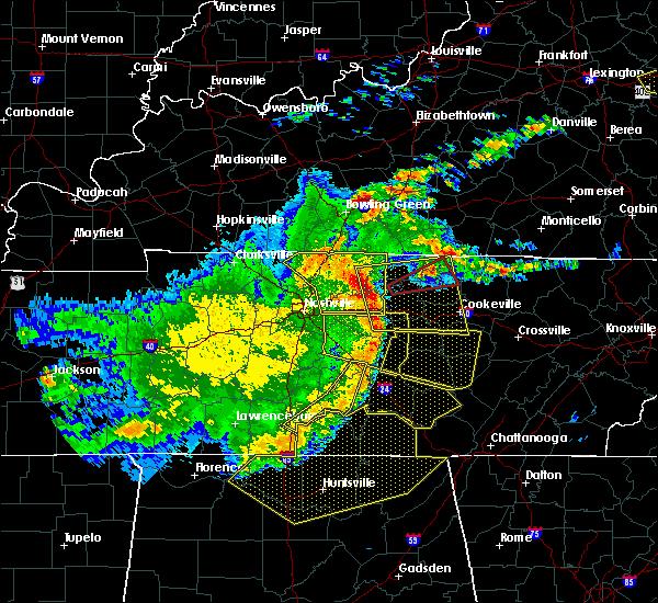 Radar Image for Severe Thunderstorms near Gainesboro, TN at 5/3/2020 5:26 PM CDT