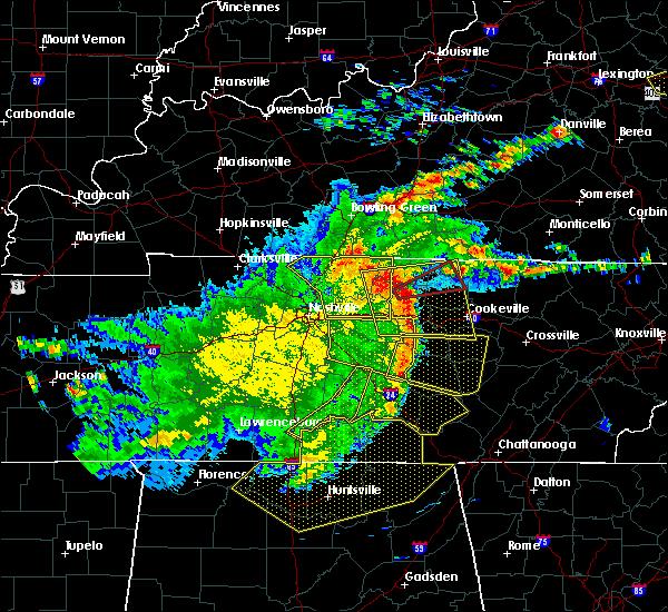 Radar Image for Severe Thunderstorms near Gainesboro, TN at 5/3/2020 5:30 PM CDT