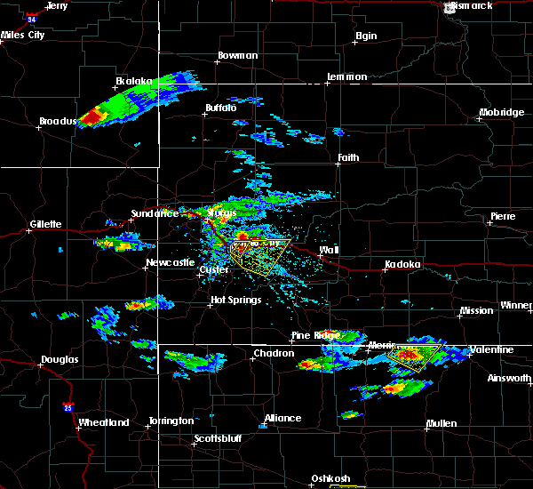 Radar Image for Severe Thunderstorms near Green Valley, SD at 5/3/2020 4:33 PM MDT